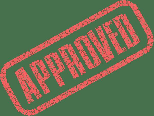 Regulatory Approval Stamp
